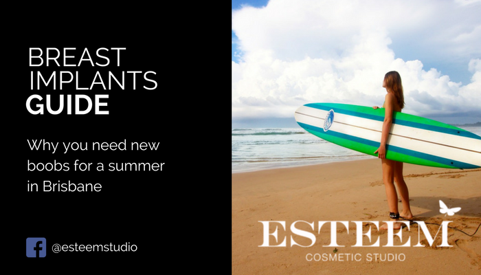 breast-implant-brisbane-summer-time-esteem-cosmetic-studio