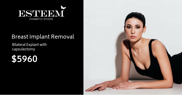 Breast Implants Removal - Esteem Cosmetic Studio